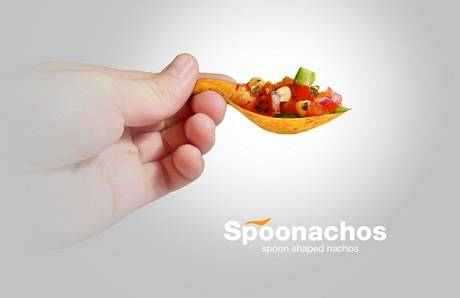 Spoonachos, Innovativi Cucchiai fatti di Nachos