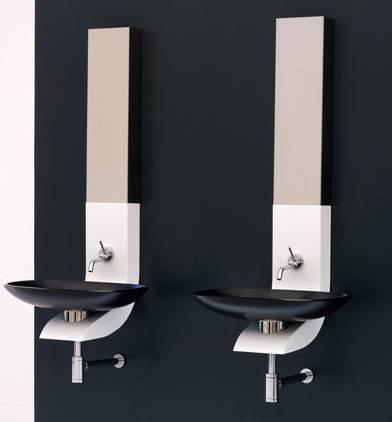 Un lavabo a semicolonna per il tuo bagno - Arredo bagno black friday ...