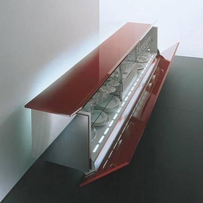 Ludwig credenze futuristiche e di design for Case futuristiche