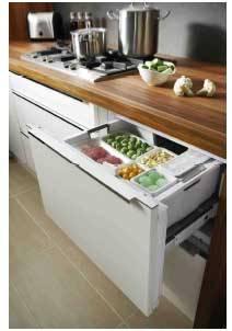 Un cassetto come freezer e un armadietto come frigorifero for Frigorifero a cassetti