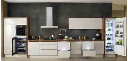 Un cassetto come freezer e un armadietto come frigorifero - Cucine con frigo esterno ...