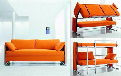 Uno speciale divano letto a castello - Divani letto a castello ...
