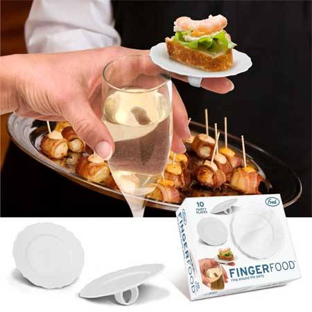 Fingerfood, i piattini da indossare