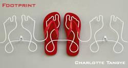 Footprint: la scarpiera divertente
