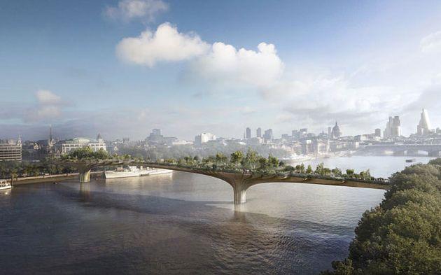 Garden Bridge: Un Ponte verde a Londra per il 2020