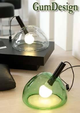 Bubble e Lucciola, le lampade di GumDesign