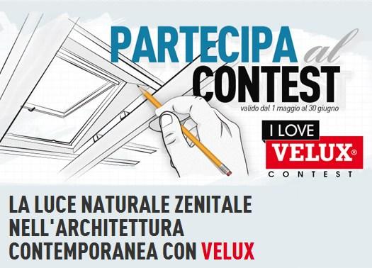 I Love VELUX: il nuovo concorso della luce naturale zenitale
