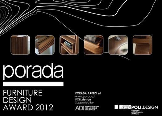 Porada Furniture Design Award 2012