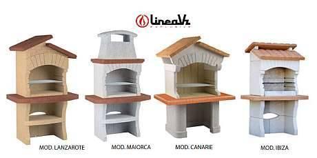LineaVZ presenta nuovi Barbecues e forni a legna