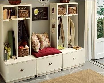 I mobili Ingresso: la prima immagine della casa