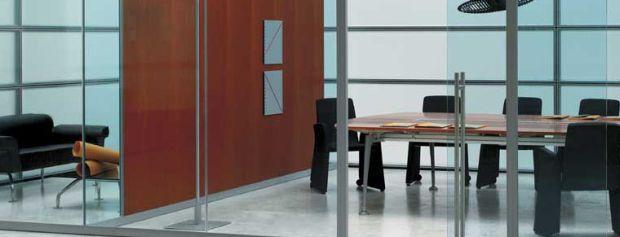 Pareti in vetro e pareti divisorie per Ufficio