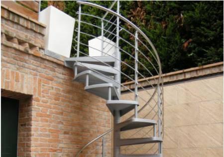 Piemmescale presenta nuove scale per esterni - Scale da esterno in muratura ...