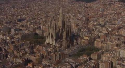 Sagrada Familia: Un rendering a lavori completati