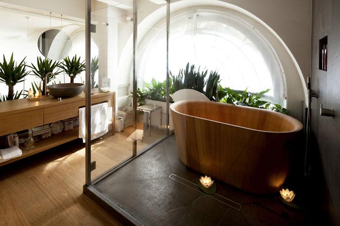 Vasca Da Bagno Stile Giapponese : Progetti bagno: 40 bagni per lasciarti ispirare