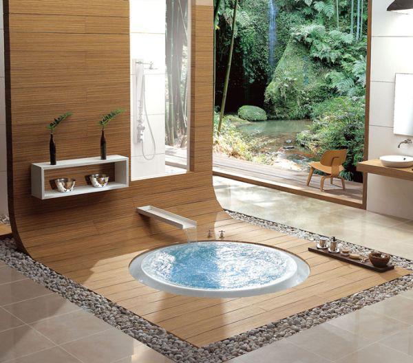 progetti bagno: 40 bagni per lasciarti ispirare - Arredo Bagno Giapponese