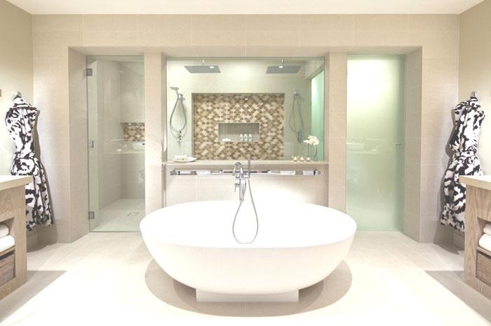Progetti bagno 40 bagni per lasciarti ispirare - Bagno con sale grosso ...