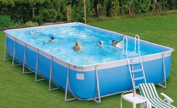 Piscine rettangolari fuori terra laghetti e piscine tradizionali - Piscine rettangolari fuori terra ...