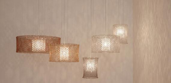 Lolli e memmoli rivisitano il lampadario in cristallo di for Lampadario arredamento