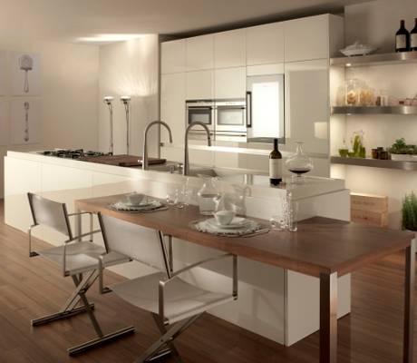 Il cuore della casa la cucina for Pareti divisorie cucina soggiorno